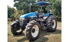 Trator New Holland 6020 4×4 ano 2009 com 1140 horas - Tratores - New Holland - Agrobill - Tratores, Implementos Agrícolas, Pneus