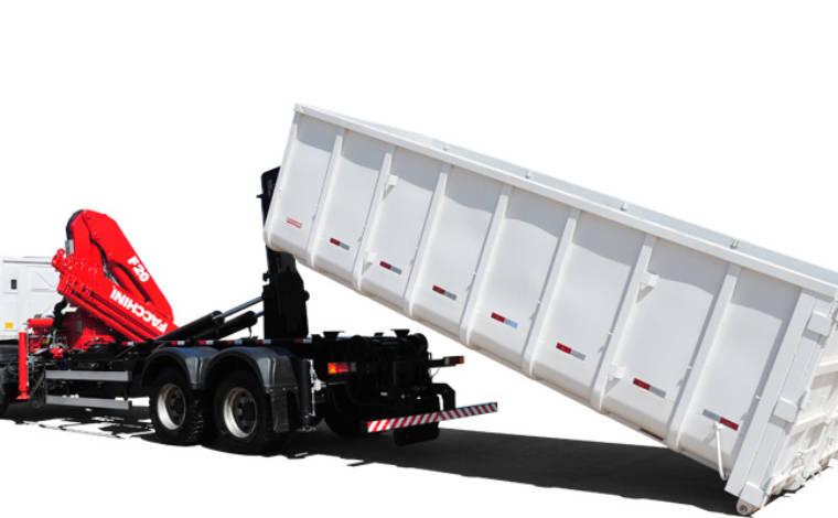 Caçamba 28 m³ para Roll On Roll Off – FACHINNI – 0 KM - Implementos Rodoviários - Facchini - Agrobill - Tratores, Implementos Agrícolas, Pneus