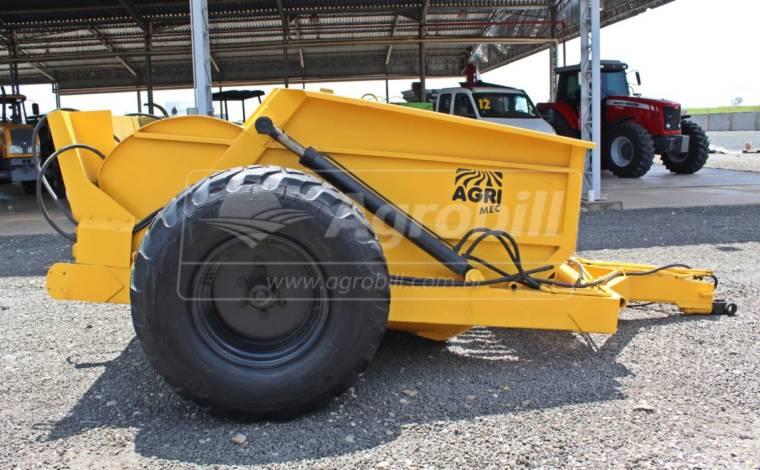 Scraper CRS 5 com Rodas Laterais / com Pneus – AgriMec > Usado - Scraper Raspadeira Agrícola controle remoto. - AgriMec - Agrobill - Tratores, Implementos Agrícolas, Pneus