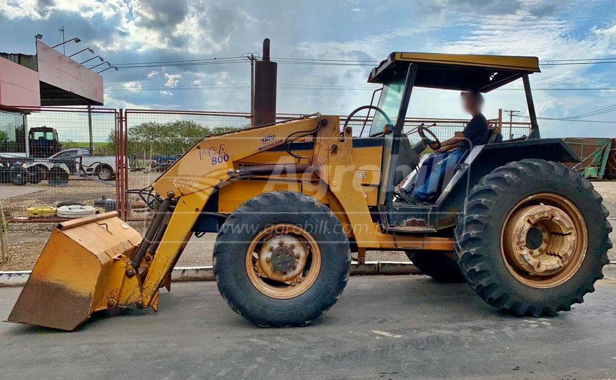 Trator Valtra 985 4×4 ano 2003 Equipado com lamina e concha TATU – SHT - Tratores - Valtra - Agrobill - Tratores, Implementos Agrícolas, Pneus