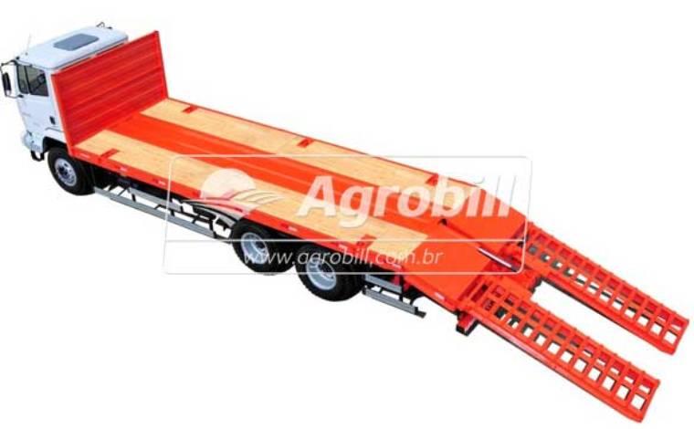 Carroceria Carrega Tudo 10 metros  com Rampas Hidráulicas  FACCHINI 0KM - Pranchas - Facchini - Agrobill - Tratores, Implementos Agrícolas, Pneus