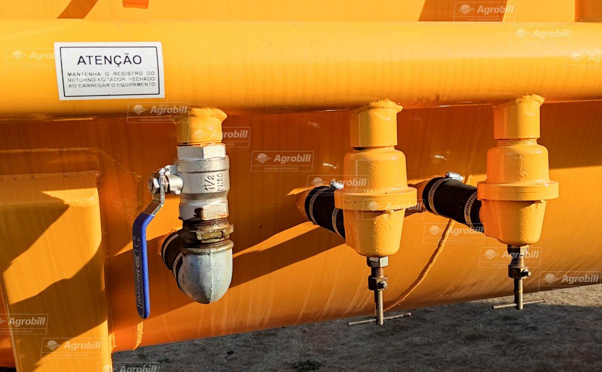 Carreta Tanque Combate Incêndio CARTBB 12500L / 2 Eixos Simples + Duplo / Sem Pneus – Mepel > Novo - Tanque de Água - Mepel - Agrobill - Tratores, Implementos Agrícolas, Pneus