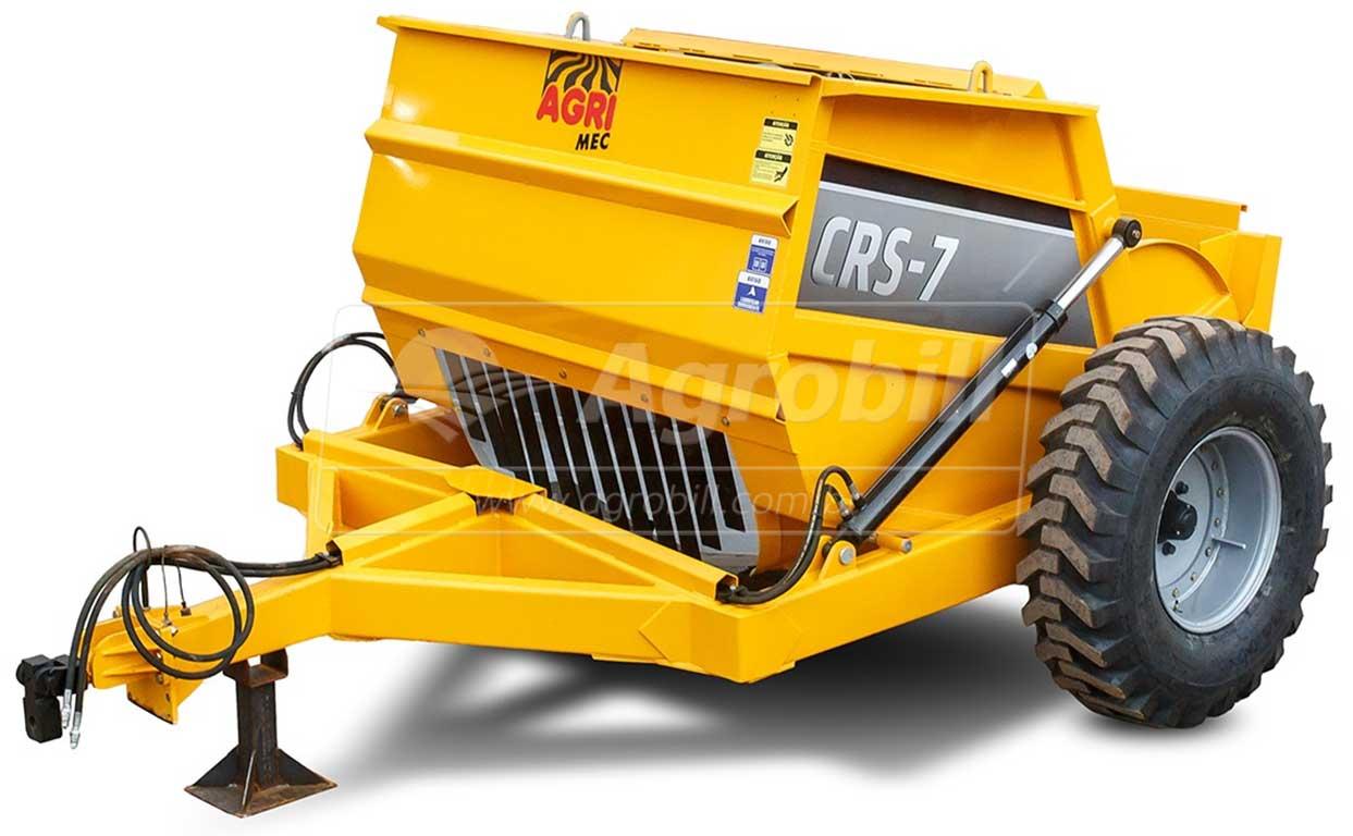 Scraper CRS 7 m³ com Rodas Laterais – AgriMec > Novo - Scraper Raspadeira Agrícola controle remoto. - AgriMec - Agrobill - Tratores, Implementos Agrícolas, Pneus