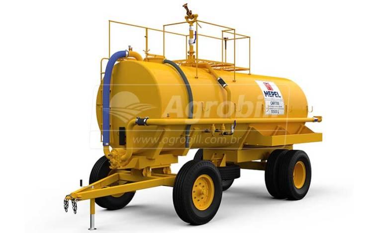 Carreta Tanque Combate Incêndio 10500L / 2 Eixos Simples + Duplo / Sem Pneus – Mepel > Novo - Tanque de Água - Mepel - Agrobill - Tratores, Implementos Agrícolas, Pneus