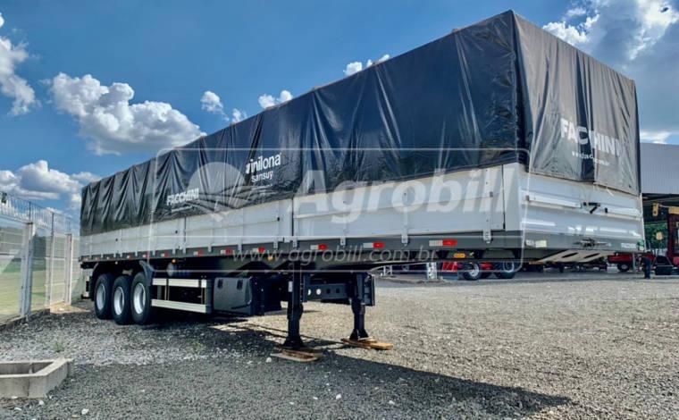 Carreta Graneleira 12.5 metros cor Branca s/ pneus  FACCHINI – 0Km – Preço p/ Produtor Rural de SP. - Graneleiro - Facchini - Agrobill - Tratores, Implementos Agrícolas, Pneus