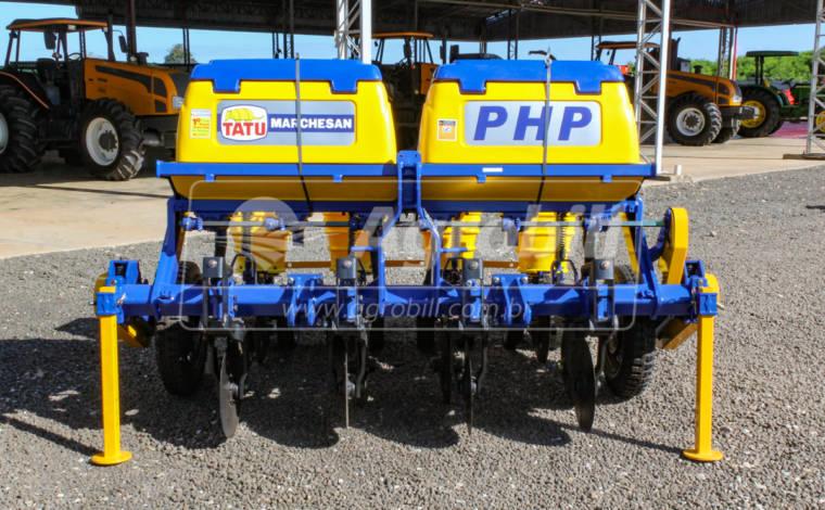 Plantadeira Hidráulica PHP 5/4 DC – TATU – Nova - Plantadeiras - Tatu Marchesan - Agrobill - Tratores, Implementos Agrícolas, Pneus