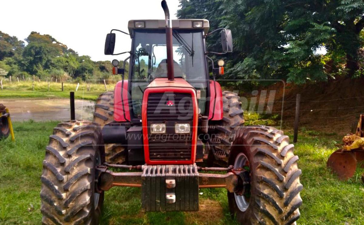 Trator MF 660 4×4 ano 2004 Cabinado original - Tratores - Massey Ferguson - Agrobill - Tratores, Implementos Agrícolas, Pneus