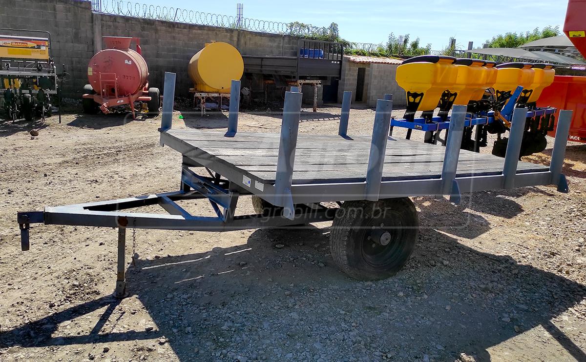 Carreta para Plantio de Cana / 2 Rodas > Usada - Carreta Agrícola Metálica - Personalizado - Agrobill - Tratores, Implementos Agrícolas, Pneus