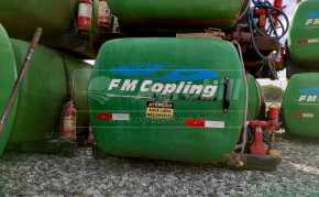Tanque 2500 litors – FM Copling > Usado * A partir de R$10.000,00 à vista * - Tanque de Água - FM Copling - Agrobill - Tratores, Implementos Agrícolas, Pneus
