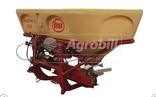 Distribuidor Semeador Vibraflow II / Acionamento por Cabo (Mecânico) – Vicon > Novo - Distribuidor de Calcário - Vicon - Agrobill - Tratores, Implementos Agrícolas, Pneus