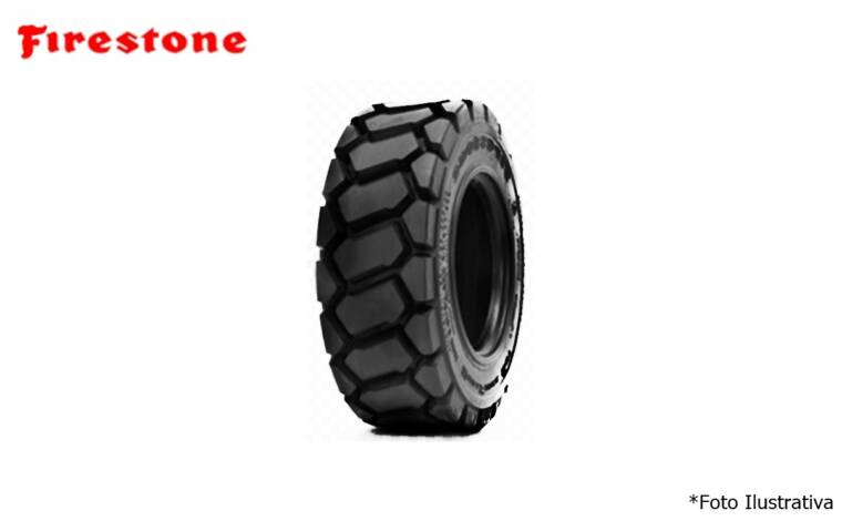 Pneu 23.5×25 / 16 Lonas – Firestone – L 3 > Novo - 23.5x25 - Firestone - Agrobill - Tratores, Implementos Agrícolas, Pneus
