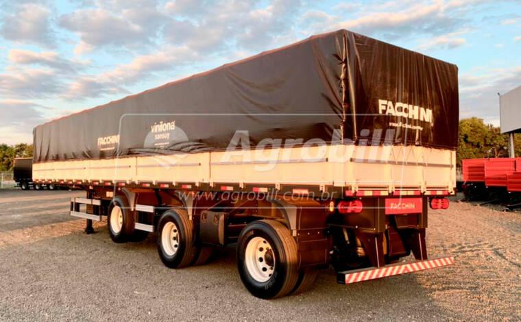 Carreta Graneleira 13.5 m s/ pneus, c/ Eixos Distanciados cor Branca FACCHINI – 0Km - Graneleiro - Facchini - Agrobill - Tratores, Implementos Agrícolas, Pneus