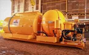 Abastecedor Pulverizador Rodoviário ABAPU Max Calda 12500L Roll On Roll Off / sem Pneus – Mepel > Novo - Tanque de Água - Mepel - Agrobill - Tratores, Implementos Agrícolas, Pneus