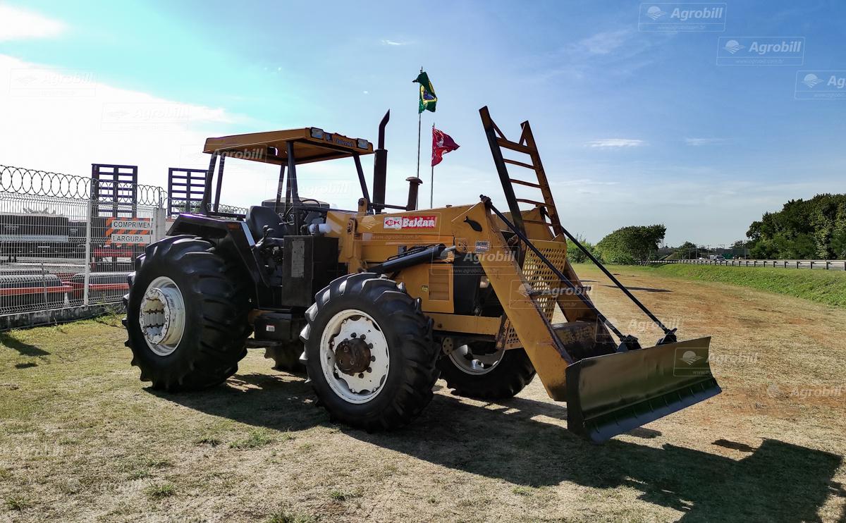 Trator Valmet 1280 4×4 ano 1998 com apenas 3.741 horas, com conjunto de Lamina - Tratores - Valtra - Agrobill - Tratores, Implementos Agrícolas, Pneus