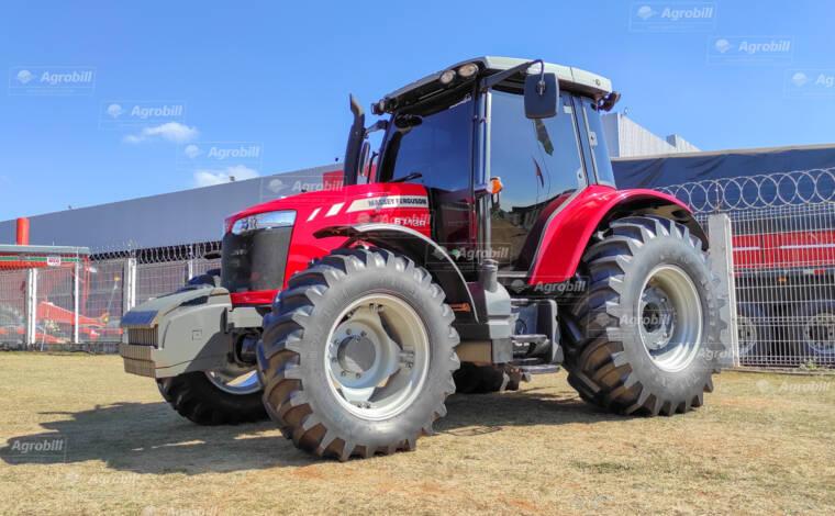 Trator Massey Ferguson 6713 R – Câmbio Dyna 4 ano 2019 com 575 horas Seminovo - Tratores - Massey Ferguson - Agrobill - Tratores, Implementos Agrícolas, Pneus