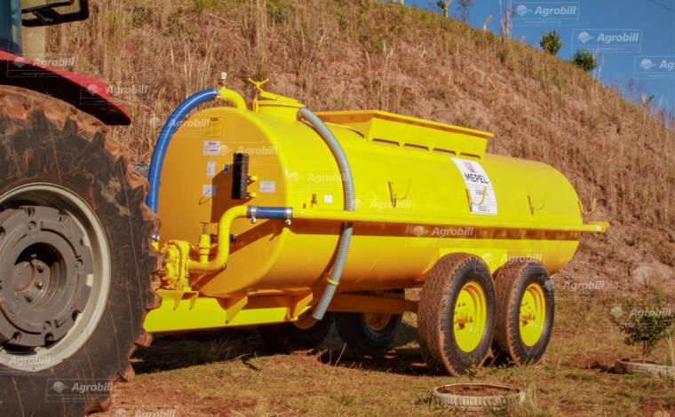 Carreta Tanque Abastecedor Pulverizador ABAPU 6500L com Bomba Lobular 3″ / Tandem / Sem Pneus – Mepel > Novo - Tanque de Água - Mepel - Agrobill - Tratores, Implementos Agrícolas, Pneus