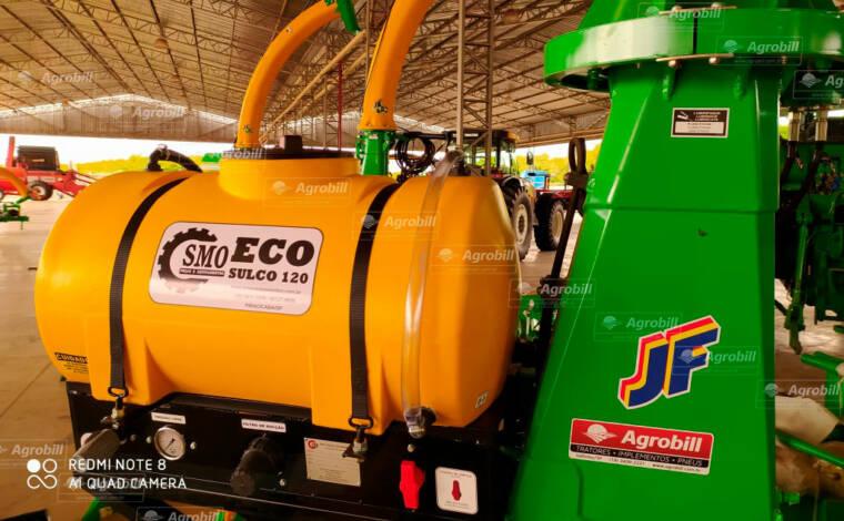 Aplicador de Inoculante ECOSulco 120 litros para Colhedora de Forragens – SMO > Novo - Colhedora de Forragens / Forrageira - SMO - Agrobill - Tratores, Implementos Agrícolas, Pneus