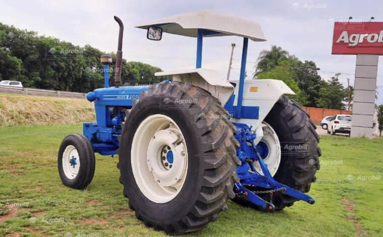 Trator Ford 6600 4×2 ano 1984 direção hidráulica - Tratores - New Holland - Agrobill - Tratores, Implementos Agrícolas, Pneus