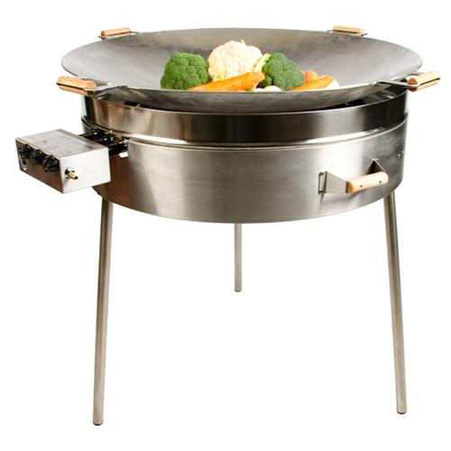 wok à gaz professionnel