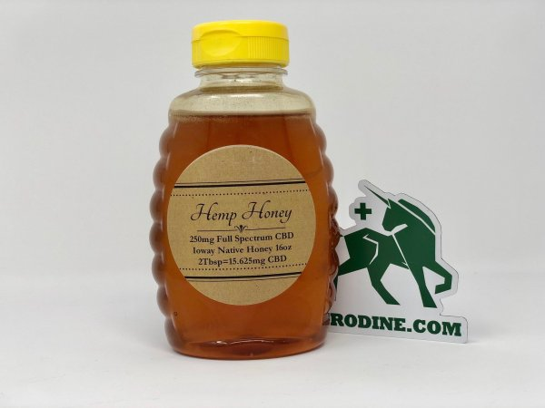Full Spectrum CBD Honey 250mg agrodine