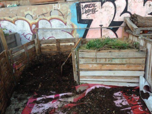 abono orgánico para el huerto: el compost