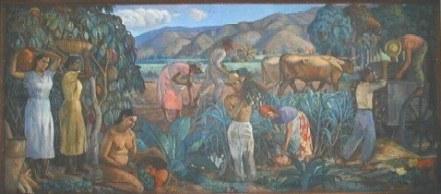 Mural de Raul Moleiro - sian.inia.gob.ve