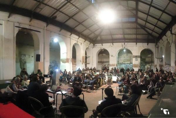 Debate en La Tabacalera