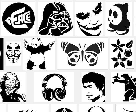 Hay muchísimos diseños para decorar tus macetas fácilmente. Fuente: Google imágenes
