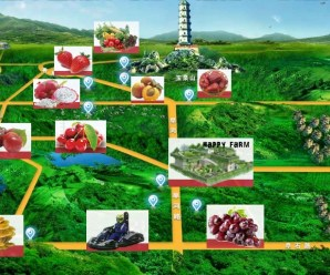Agricultura de ocio en Pekín. Central Cultural Leisure Park.