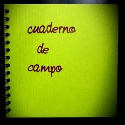 Cuaderno de campo. Como hacerlo tu mismo