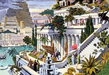 Jardines de Babilonia (Fuente: Wikipedia)