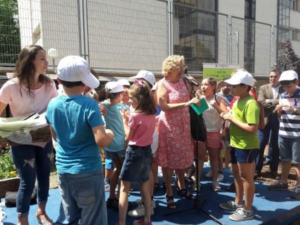 Concurso de huertos escolares de Madrid