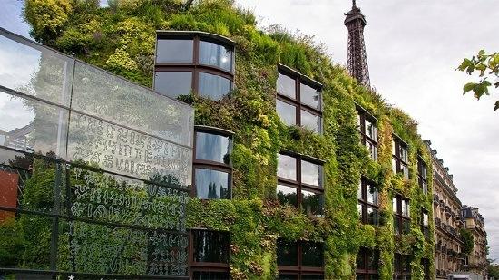 Jardín vertical del Museo Quai Branly de Jean Nouvel, Paris 2005