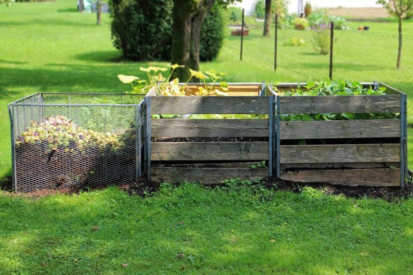 técnicas ecológicas: composta casera en cajón de compostaje