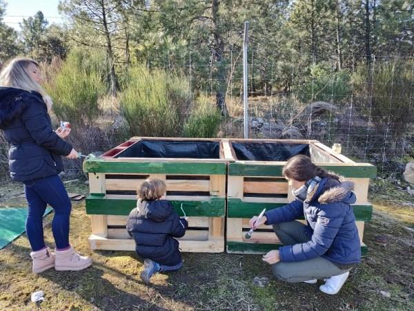 fabricar una compostera casera