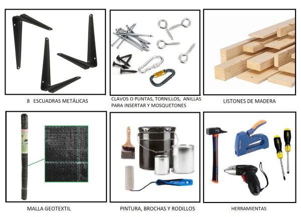 materiales para hacer un compostador o compostera casera