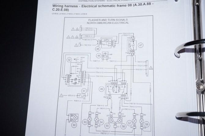 new holland track loader lt185b lt190b workshop service