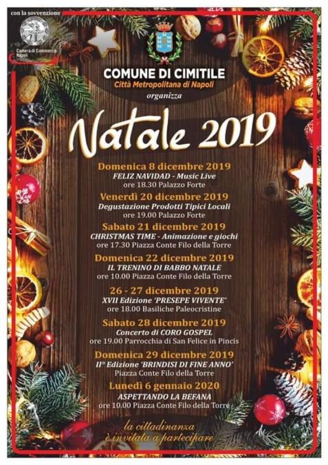Cimitile, il calendario per gli eventi di Natale