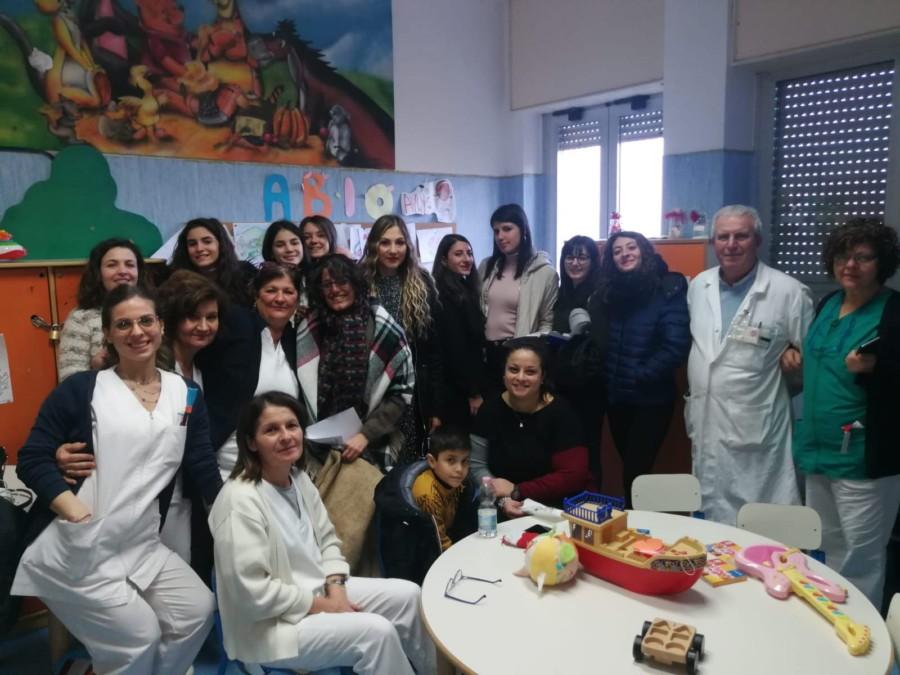 Happyfania, l'associazione Igea dona un sorriso ai bambini del reparto pediatria dell'ospedale di Nola