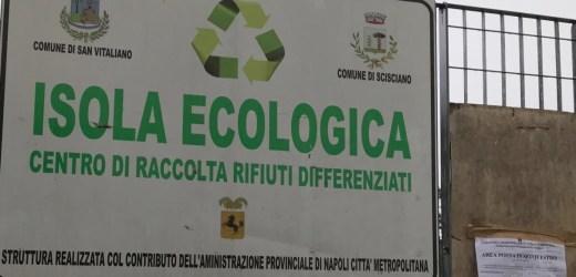 Scisciano-San Vitaliano, riapre l'isola ecologica.