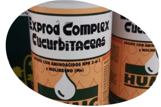 Producto destacado: EXPROD COMPLEX®CUCURBITACEAS