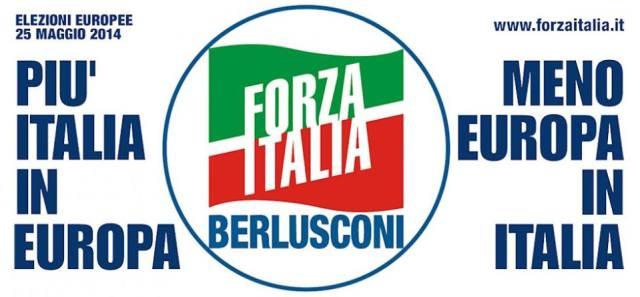 LOGO FORZA ITALIA ALLE EUROPEE