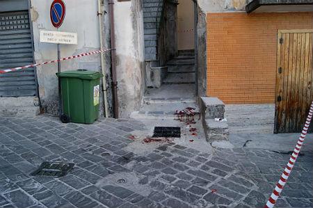 carabinieri_sparatoria_agguato_ferimento_olevano_salerno