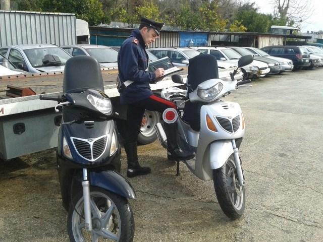 moto rubate