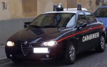 Auto carabinieri, foto generica fornita dal comando provinciale di Catania