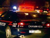 carabinieri auto notte