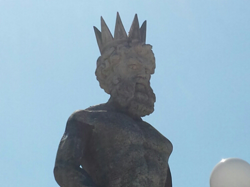 CARRUNO STATUA