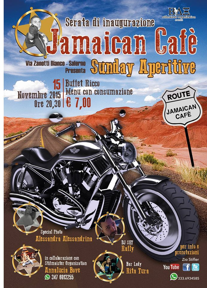 LOCANDINA JAMAICA CAFE'