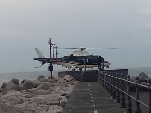 elicottero amalfi