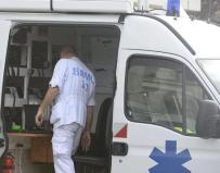epa04990722 A doctor coordinates help from an ambulance following the fatal bus crash in in Puisseguin, near Bordeaux, south western of France, 23 October 2015. At least 42 people were killed and several more injured in a collision between a bus and truck in south-western France, the Elysee Palace said. The bus was carrying senior citizens on an excursion, the Interior Ministry said. The crash set both vehicles on fire, according to authorities. EPA/CAROLINE BLOOMBERG